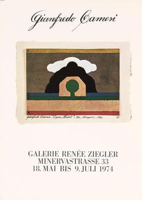 Gianfredo Camesi: Ölbilder, Auquarelle und Objekte von 1973, schweizerischer Beitrag an der 12. Biennale von Sao Paulo