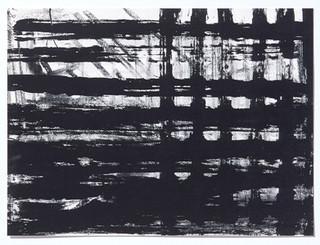 Pierre Haubensak: Grotesken, Gitter und Götter - Arbeiten auf Papier 1984-88