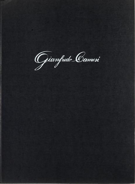 Gianfredo Camesi, Triptique et eau - forte, Mappe, 1973