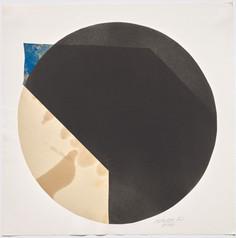 Rolf Lehmann - Suite de 10 aquatintes-collages, Blatt 8,1972