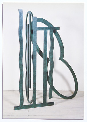 Nigel Hall: Neue Skulpturen und Arbeiten auf Papier