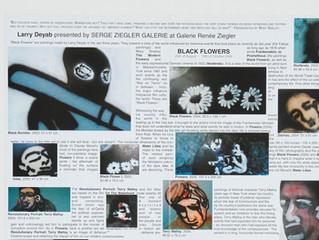 Larry Deyab: Black Flowers