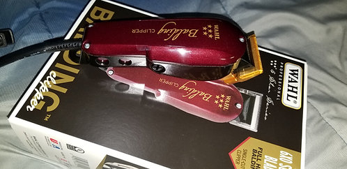 Wahl balding clipper with gold blade