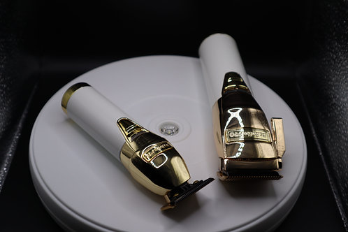 Babyliss custom gold and white