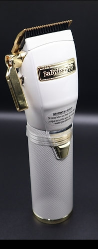 Babyliss clippers white and gold