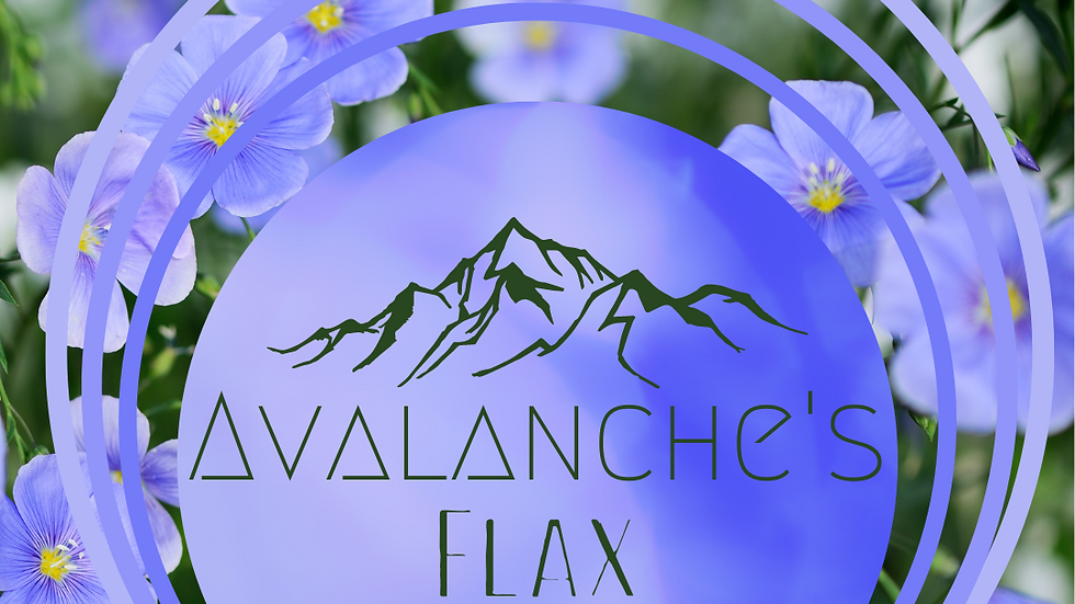 Avalanche's Flax Pillows