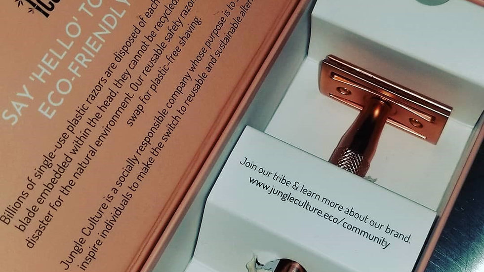 Jungle Culture Safety Razor