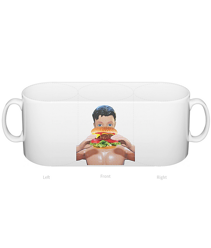 Burger Me Mug