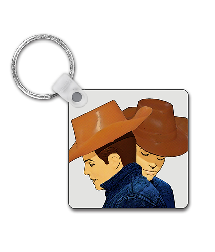 Brokeback Mountain, Gay Interest Keyring