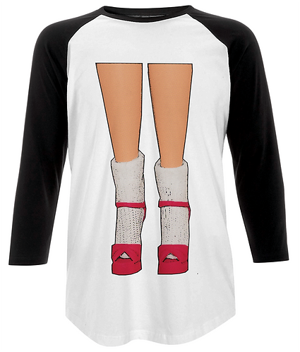 Socks & Stilettos Baseball Shirt