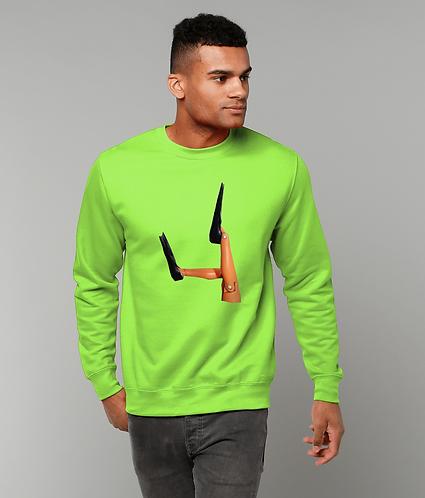Scuba Diver Flippers! Funny Sweatshirt