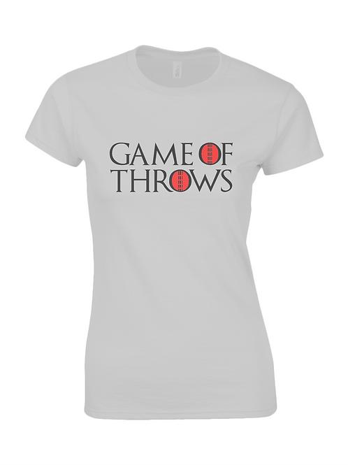 Game of Throws Ladies T-Shirt