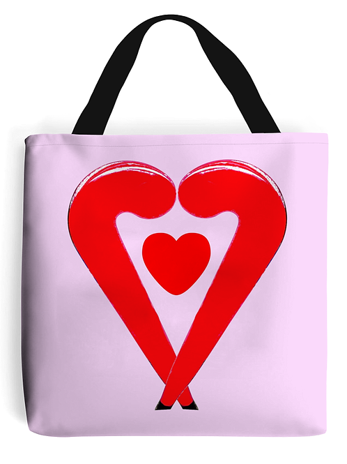 Lovestix Field Hockey Tote Bag