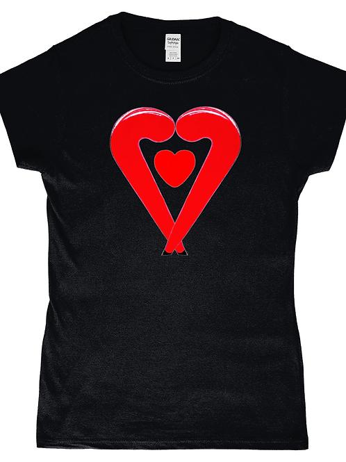 Lovestix! Cool, Ladies Field Hockey T-Shirt