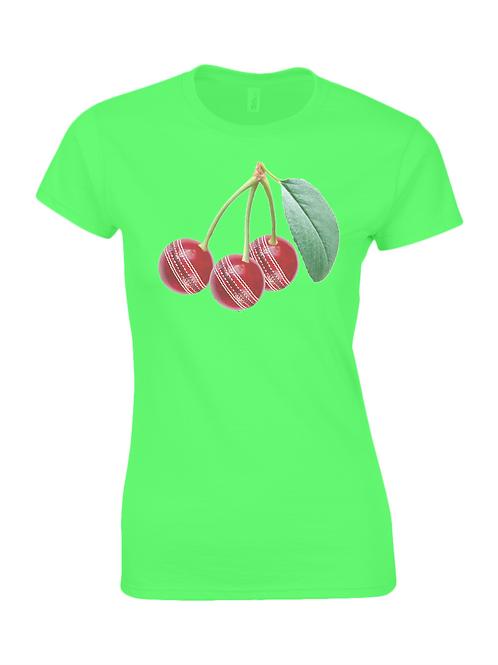 Cherries Ladies T-Shirt