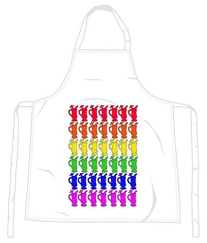Cocktail Rainbow Apron