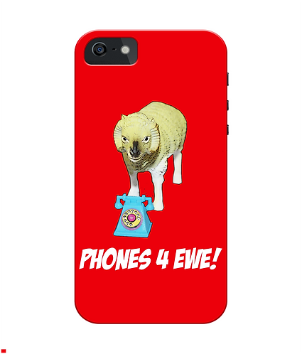 Phones 4 Ewe iPhone Case