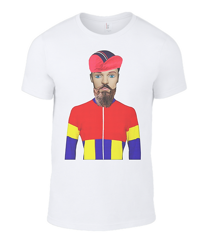 Cyclist Men's T-Shirt