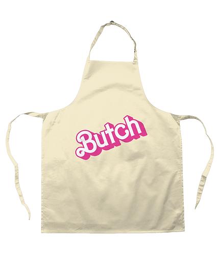 Butch! Funny, Lesbian/Gay Apron