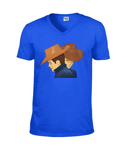 Brokeback Mountain Gay V Neck TShirt