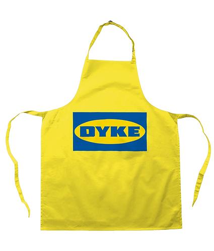 Dyke! Funny, Lesbian Apron
