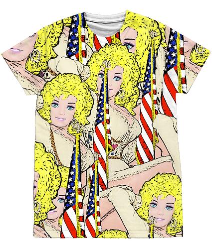 Good Golly, It's Dolly! Pop Art Sublimation Unisex T-Shirt