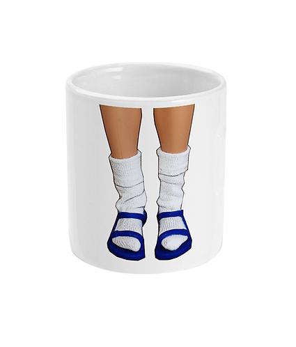 Funny, Hilarious Mug! Socks & Sandals!