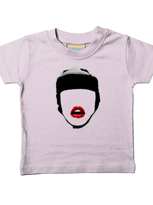 Lipstick & Rugby! Cool, Funny, Babies Rugby T-Shirt