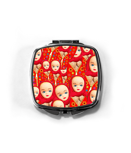 Rude, Funny Russian Dolls Compact Mirror
