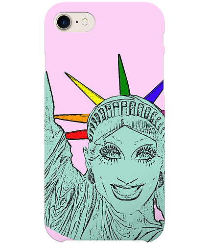 Bianca Del Rio as The Statue of Liberty! Funny, Gay i-Phone Case