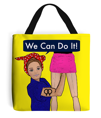 We Can Do It, Rude, Lesbian Tote Bag