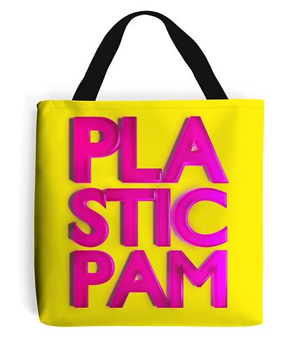 Plastic Pam Tote Bag