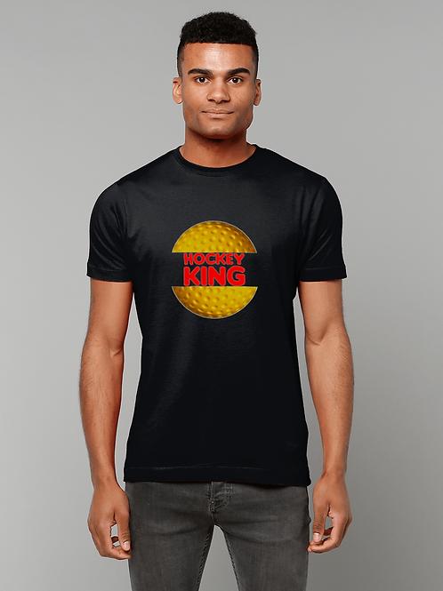 Hockey King! Funny, Mens Field Hockey T-Shirt