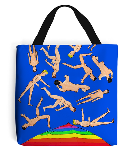 It's Raining Men, Funny Tote Bag