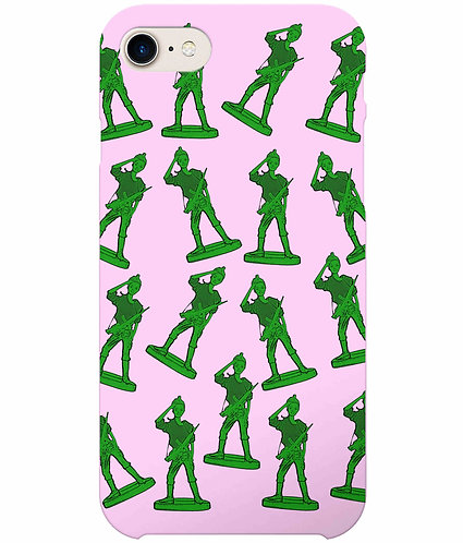 Girl Toy Soldier i-Phone Case