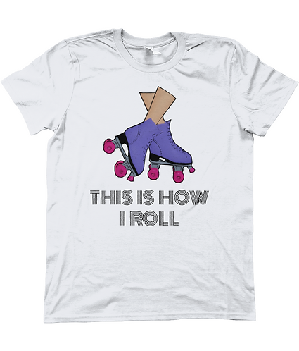 This is how I roll! Funny Men's T-Shirt