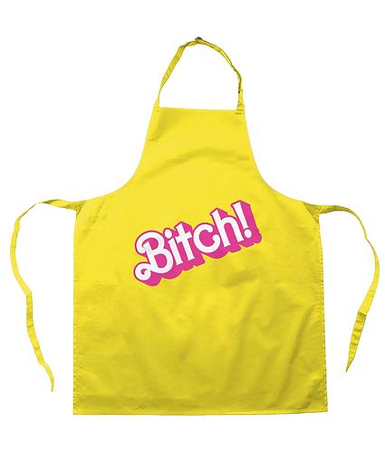 Bitch! Funny, Lesbian/Gay Apron