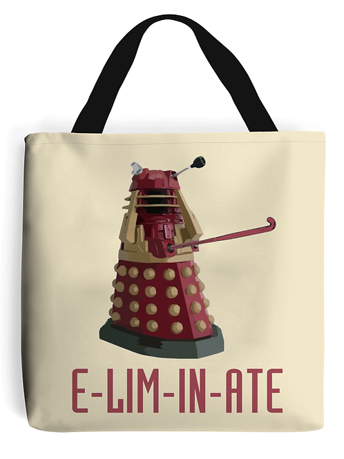Eliminate Field Hockey Tote Bag