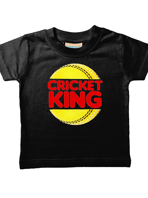 Cricket King! Cool, Funny, Babies Cricket T-Shirt