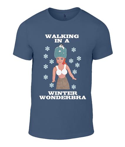 Walking In A Winter Wonderbra T-Shirt