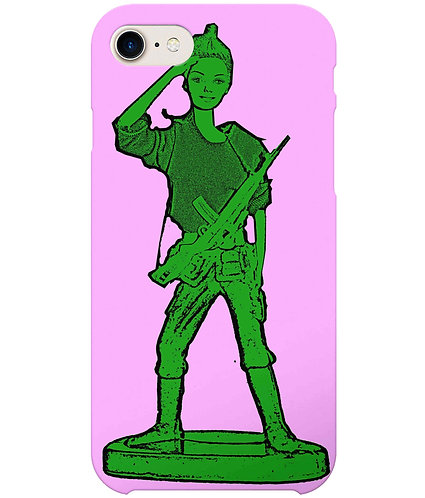 Toy Soldier Girl iPhone Case