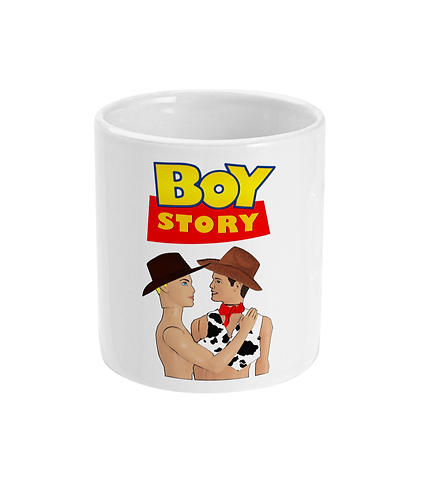 Funny, Gay Mug! Boy Story!
