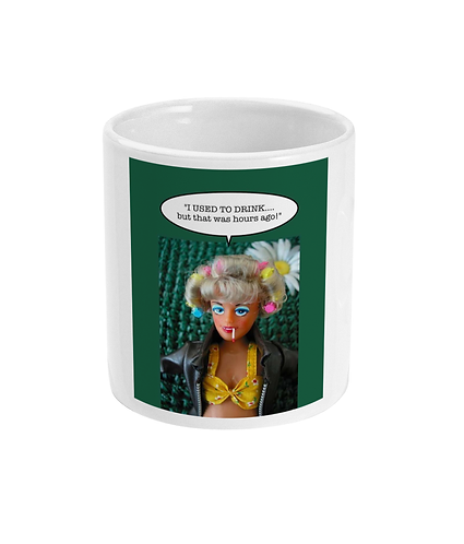 Funny Drinking Meme Mug! I Used to Drink - But that was hours ago!