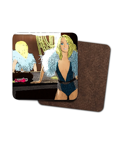 4 x Britney Doll Drinks Coasters!
