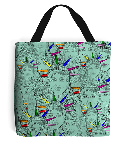 Madonna as The Statue of Liberty! Gay Pop Art, LGBT Tote Bag