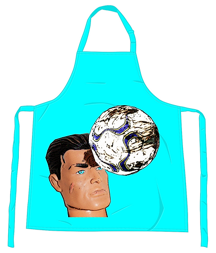 Football Header Apron