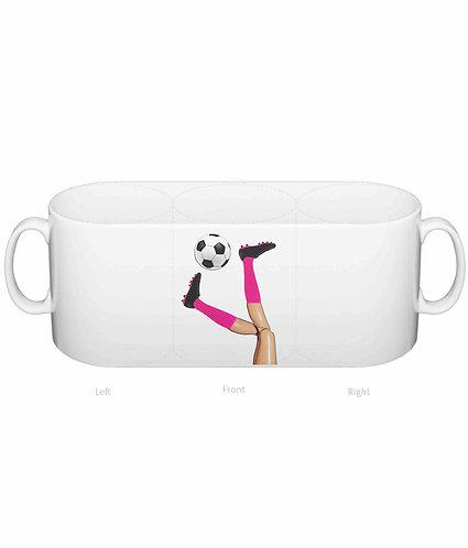 Womens Soccer, Funny Mug