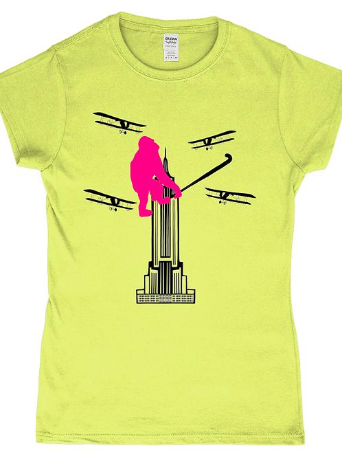 King Kong Hockey! Ladies Field Hockey T-Shirt