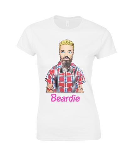 Beardie, Funny Hipster Ladies T-Shirt