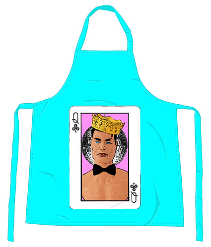 Queen of Clubs Apron